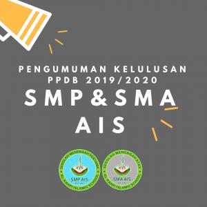 Ilustrasi Pengumuman Kelulusan Penerimaan Peserta Didik Baru 2019/2020 SMP & SMA AIS