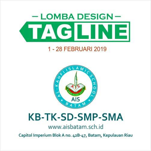 Gambar Sayembara Design Tagline AIS 2019 - Sekolah Islam Bagus di Batam